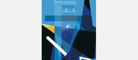 cartel de la Semana Santa Marinera de Valencia 2014