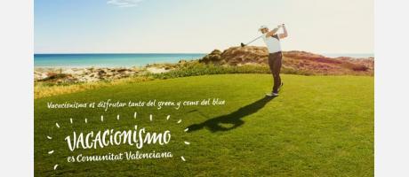 Vacacionismo Gráfica Golf El Saler
