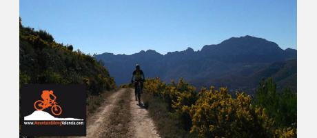 Sierra de Bernia en mountain bike