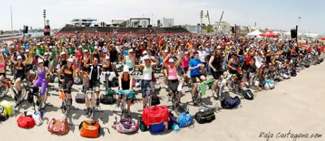 Participantes a la Bestcycling sobre las bicicletas