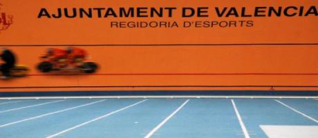 Participantes en pista