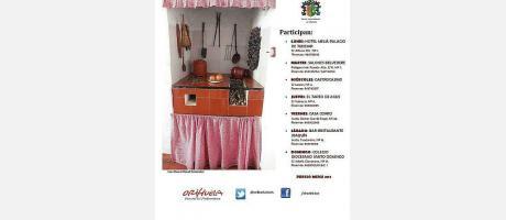JORNADAS GASTRONÓMICAS EN ORIHUELA DEL 2 AL 8 DE JUNIO DE 2014