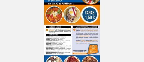 V TAPeix Santa Pola-Ruta de Tapas