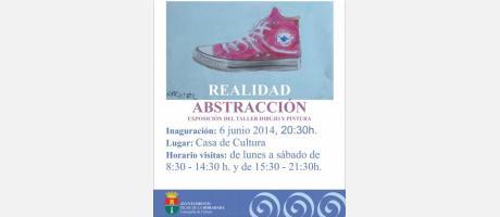 Exposición de dibujo y pintura:Realidad- Abstracción