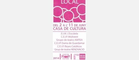 Mostra Teatre Local 2014