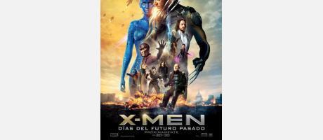 Cartel X-Men Días del Futuro Pasado