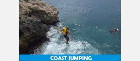 Coast Jumping con Trokos y barrrancos