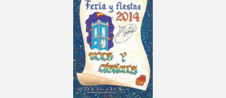 cartel fiestas 2014 almoradi