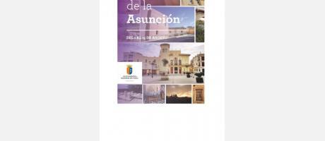 Programa de fiestas Asunción de Nuestra Señora 2014