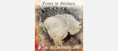 Imagen del Cartel de las Fiestas de Moros y Cristianos de Invierno de Jijona