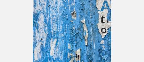 Muro en azules