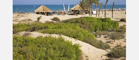 La playa de Elx
