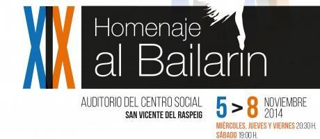 XIX Homenaje al Bailarín 2014