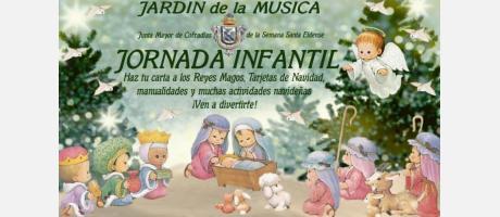 Cartel Jornada Infantil Navideña Semana Santa