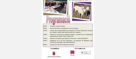 Cartel Feria Tradicional de Atzeneta del Maestrat 2014