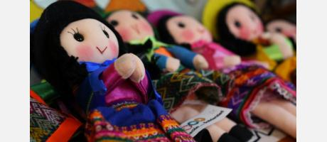 Muñecas de trapo artesanales