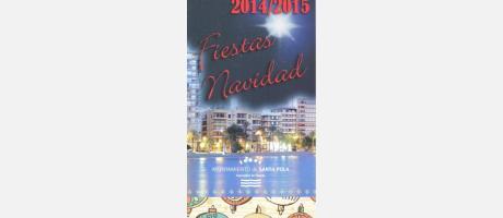 Programa Fiestas de Navidad Santa Pola