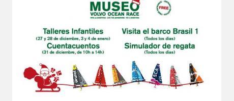Navidad en el Museo Volvo Ocean Race