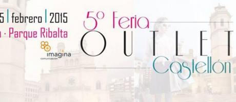 Cartel V Feria Outlet Castellón 2015