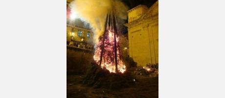 Cartel Fiestas de San Antonio Abad Zorita