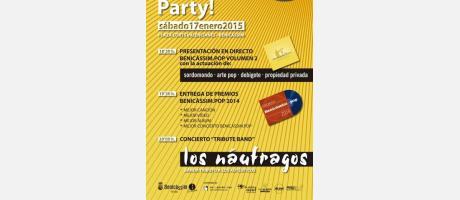 cartel concierto pq