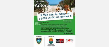 Marcha canina San Antón Pilar de la Horadada 2015