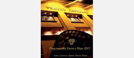 Portada Programa Teatro Castelar Enero a Mayo 2015