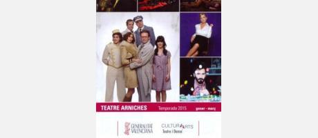 Programación Teatro Arniches Enero –Marzo 2015