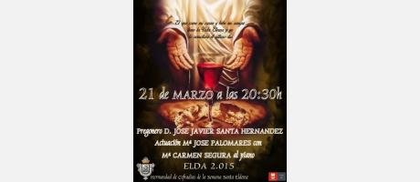 Cartel Pregón Semana Santa Eldense 2015