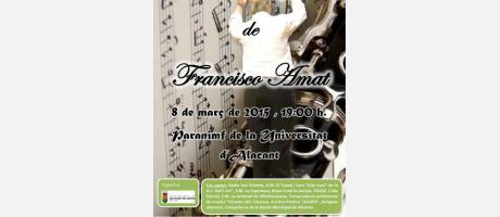Concierto Monográfico Francisco Amat