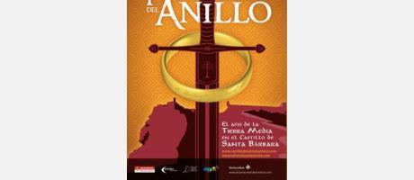 """Exposición """"La Fortaleza del anillo. El Año de la Tierra Media en el Castillo de"""