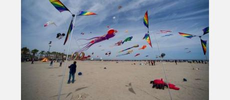 Un cielo multicolor