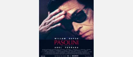 Cartel Pasolini, cine en v.o.s en el Aula de cultura de la CAM en Alicante