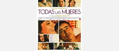"""Cartel película """"Todas las mujeres"""" de Mariano barroso"""