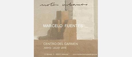 Pintura de Marcelo fuentes en tonos arena