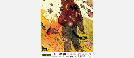 Cartel Comic On en mercado tapineria