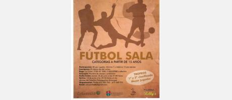 Cartel Torneo de Verano Fútbol Sala Pilar de la Horadada