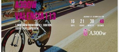 imagen anuncio campeonato triatlón