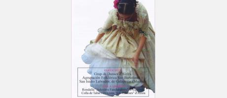 Grupos de danzas en las fiestas patronales de Alzira