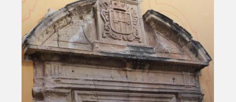 Escudo Convento de Sta. Lucía