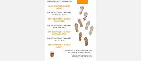 Caminades d'estiu 2015 - EPNDB