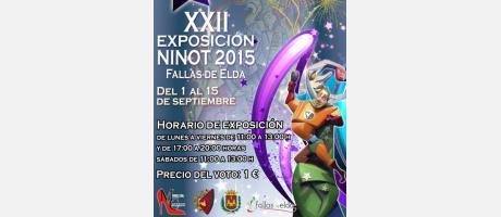 XXII Exposición Ninot Fallas de Elda
