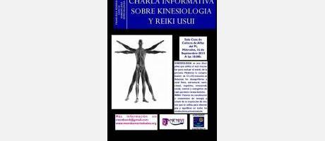 Charla informativa sobre kinesiología y reiki