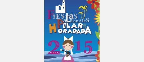 Cartel Fiestas Patronales Pilar de la Horadada 2015