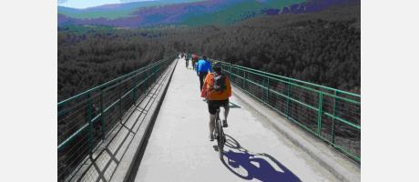 Ruta en BTT por la Vía Verde de Alcoi con Trail Natura