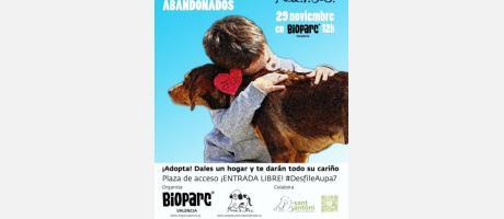 Cartel promocional del 7º desfile de perros abandonados