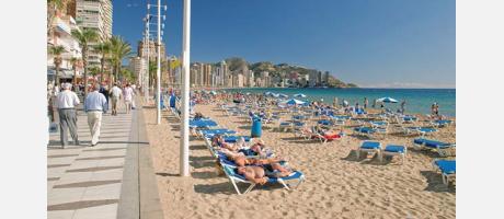Playa de Levante - Benidorm