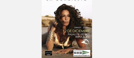 Imagen del Cartel del Concierto de Rosario Flores en Valencia