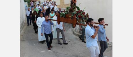 Procesión en Cortes de Pallás