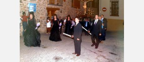Procesión del Cristo de la Sed en Gaibiel
